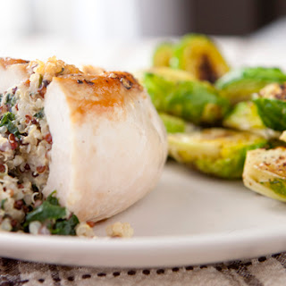 Quinoa Stuffed Chicken Breasts
