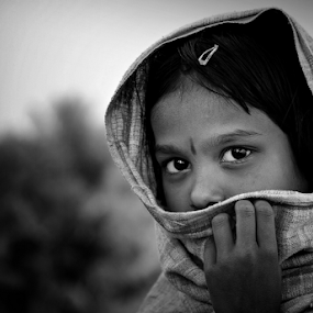 The Shy Village Girl by Fotosutra - a PRASANTA SINGHA photography - Babies & Children Child Portraits (  )
