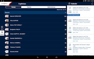 Screenshot of ORF Ski Alpin Weltcup