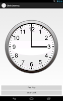 Screenshot of Clock Learning