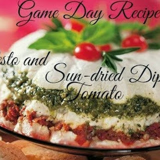 Pesto and Sun-Dried Tomato Dip