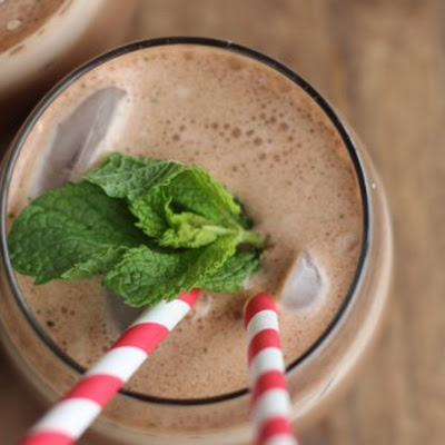 Iced Mint Protein Mochas