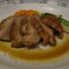 Divine Boneless Duck Breast With Port Wine Sauce