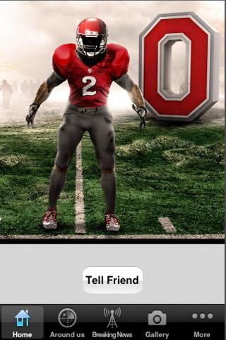 Ohio State Fan Club App