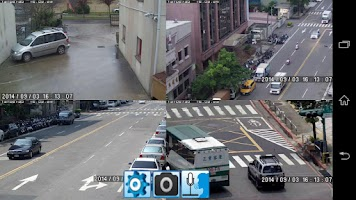 Screenshot of iViewer DVR