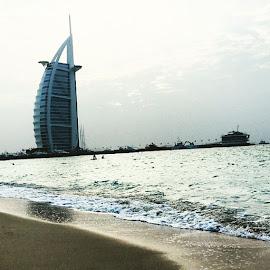 #Beach #BurjAlArab by Emir Vukicevic - Buildings & Architecture Office Buildings & Hotels