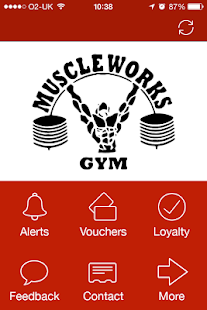 Muscle Works Gym, London - screenshot