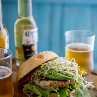 Umami Turkey Rosemary Burgers with Avocado