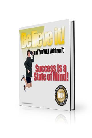 Believe It: You Will Achieve