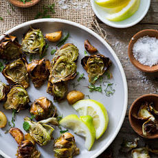 Fried Minted Artichoke