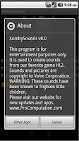 Screenshot of XombySounds