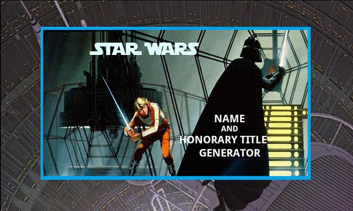 Create Your Star Wars Name 5
