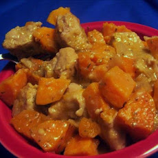 Pork Sweet Potato Stew