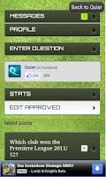 Screenshot of Quisr Football Champions|Quiz