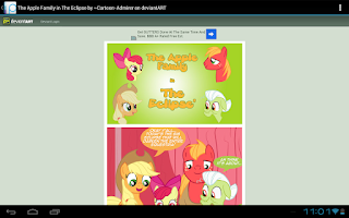 Screenshot of Ponu News (My Little Pony)