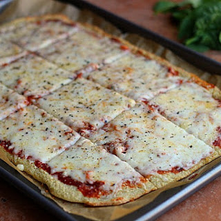 Thin and Rustic Quinoa Pizza Crust --Video