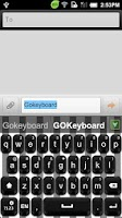 Screenshot of GO Keyboard Mix theme