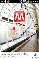 Screenshot of Rome Metro