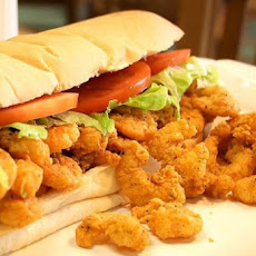 Classic Fried Shrimp Po'boys