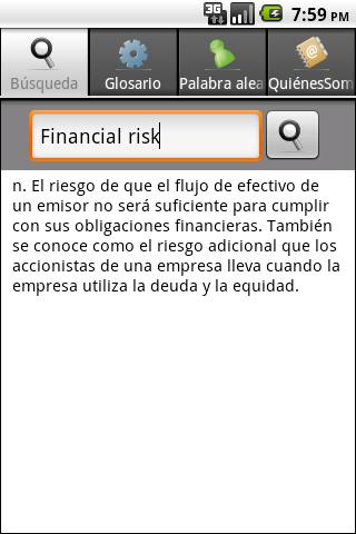 玩免費教育APP 下載Spanish BusinessFin Dictionary app不用錢 硬是要APP