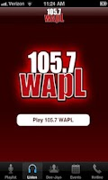 Screenshot of 105.7 WAPL