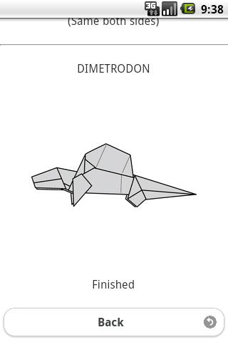 玩免費教育APP|下載恐竜折り紙8 【ディメトロドン】 app不用錢|硬是要APP