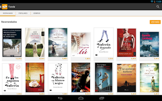 Screenshot of Fnac ebooks