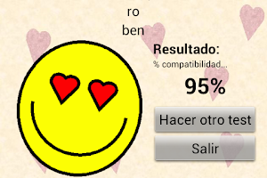 Screenshot of Test del amor HAPPY LOVE