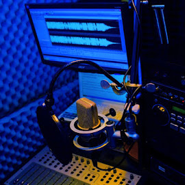 Jim's Voiceover booth. by Jim Westcott - Artistic Objects Technology Objects ( voiceover booth, recording, announce booth, vo booth, voiceover studio )