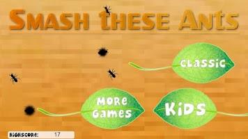 Screenshot of Smash these Ants