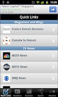 Screenshot of Detroit Local News