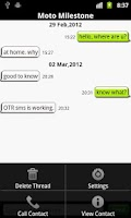 Screenshot of OtrSMS - Encrypted SMS
