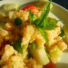 Apple and Mint Couscous