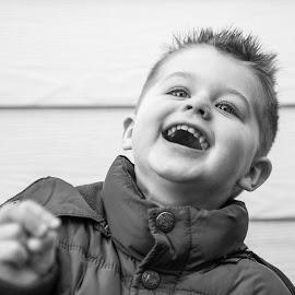 Happy by Jean-Marc Schneider - Babies & Children Child Portraits