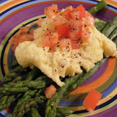 Scrambled Eggs & Asparagus (21 Day Wonder Diet: Day 14)