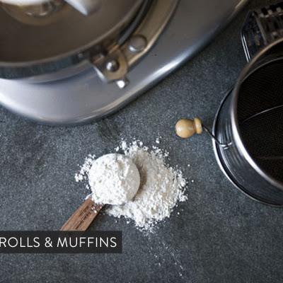 Cocoa-Rosemary Muffins