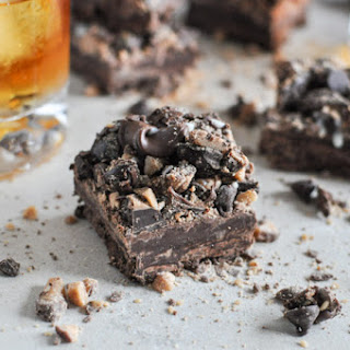 Loaded Chocolate Bourbon Fudge