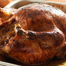 Roast Chicken With Honey Butter Chorizo Stuffing