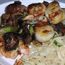 Teriyaki Shrimp and Scallop Kebabs