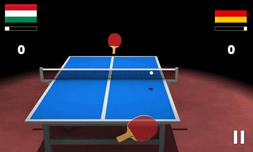virtual-table-tennis-3d for android screenshot