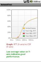 Screenshot of Network/Video Test