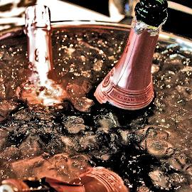 celebration  by Magdalena Wysoczanska - Food & Drink Alcohol & Drinks ( champagne, drink, happiness, pink, celebration, bubbly )