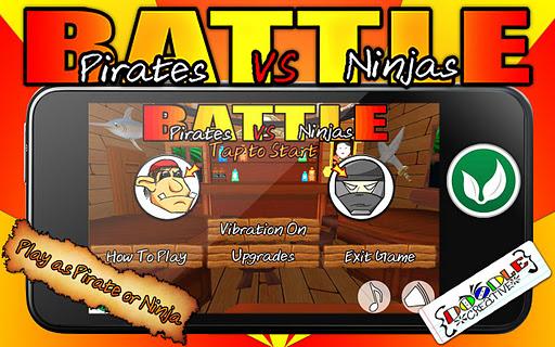 Battle: Pirates VS Ninjas