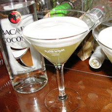 World's Easiest Pina Colada Rum Martini