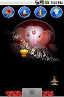 Screenshot of Ganpati Ganesh Live Wallpaper