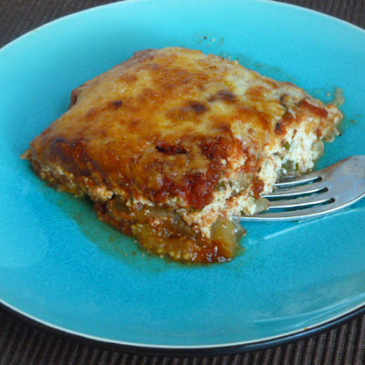 Lightened Up Eggplant Parmesan