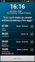 Screenshot of Brain Up Alarm