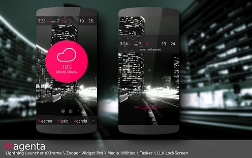 magenta LLX Theme\Template - screenshot