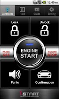 Screenshot of iStart Smart Key