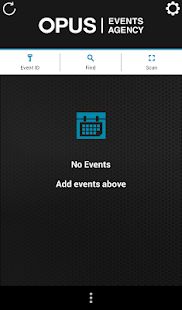 Opus Mobile Events - screenshot
